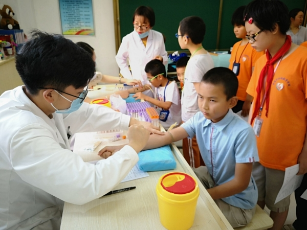 关注学生健康 重视定期体检