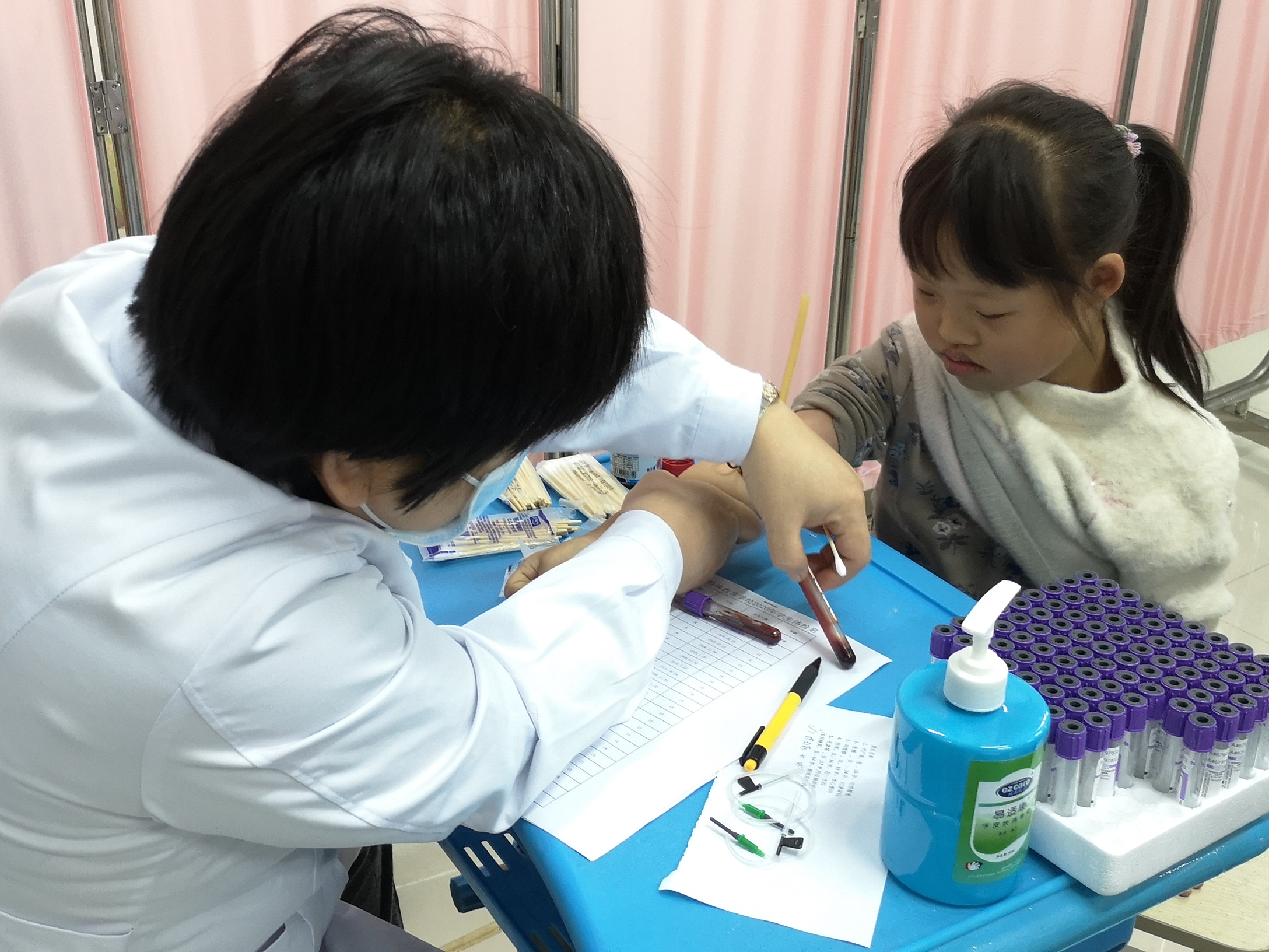 【宝特校·卫生保健】全面做好重大传染病筛查  关注残障学生健康成长