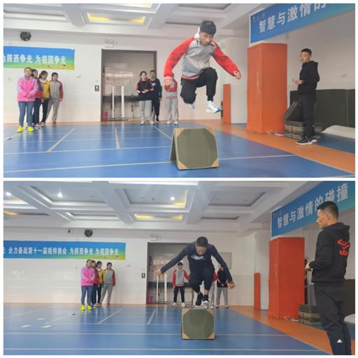 【宝特校·如虹体育】体育课堂展风采 以赛促研共成长